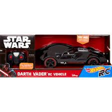wheels star wars r c darth vader vehicle walmart com