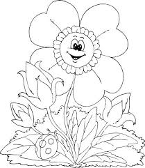 11 spring coloring sheets images coloring