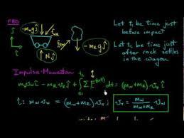 impulse momentum problem a engineering dynamics notes problems