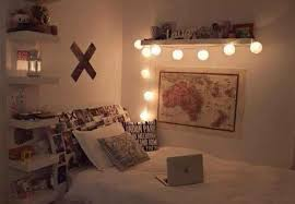 ideas to hang christmas lights in a bedroom shelterness with