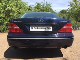 lexus used uk used blue lexus ls 430 for sale middlesex