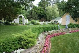 Tiered Backyard Landscaping Ideas Ideas For Lanscaping Landscaping Ideas Georgian Style Home