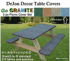 3 piece fitted picnic table bench covers this picnic table cover would be great for picnics at the park