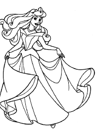 disney princess color page coloring pages sleeping beauty coloring pages printable inside