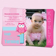 free printable 1st birthday invitation cards for girls featuring