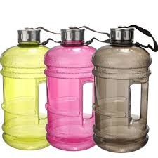 porsche water bottle portable 2 2l bpa free plastic big large capacity gym sports water