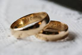 seattle wedding band happy couples with these rings