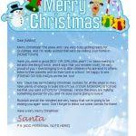 examples of letters from santa letters font