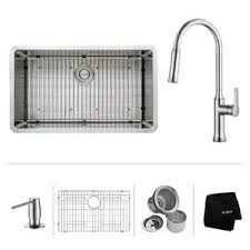 kitchen faucet and sink combo kitchen sink combos you ll wayfair