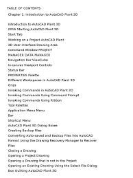 plant 3d tutorial word file auto cad pipe fluid conveyance