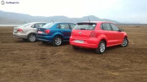 volkswagen polo 2016 red volkswagen ameo vs polo vs vento rear end carblogindia