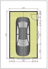 Garage Size Ideal Garages Single Garages
