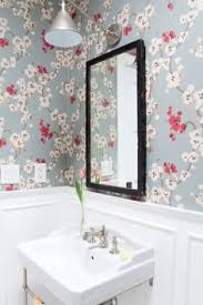 Wallpapered Bathrooms Ideas 10 Bright Tips For Adding Color To Your Home Colorful Bathroom