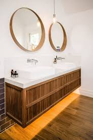 bathrooms design wall mounted mirror brushed nickel bathroom