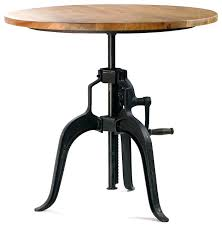 Adjustable Height Bar Table Adjustable Height Bar Table Industrial Adjustable Height Glass Bar
