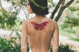 beefree watercolor butterfly mybodiart