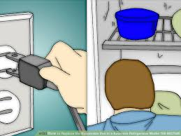 refrigerator evaporator fan replacement how to replace the evaporator fan in a kenmore refrigerator model