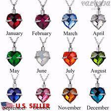 birthstones necklace for birthstone necklace ebay