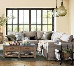 Living Room With No Coffee Table by Pottery Barn Home Facebook