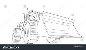 sketch hand draw excavator stock illustration 366769307 shutterstock