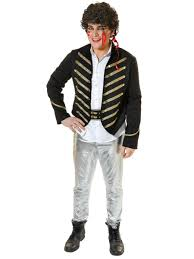 punk costume 80s fancy dress costume for men party superstores