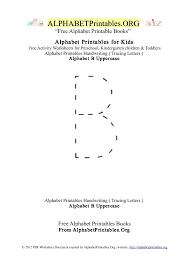 letter b alphabet printables for kids alphabet printables org