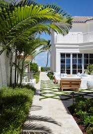 Beach House Backyard Florida Beach House With Coastal Farmhouse Interiors Home Bunch