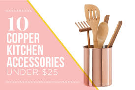 Pink Kitchen Accessories by 10 Copper Kitchen Accessories Under 25 Kitchn