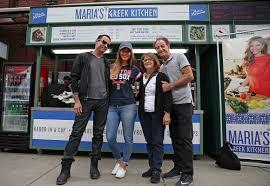 Kitchen Courtesy Signs Gyro U0027s Welcome For Maria Menounos Boston Herald