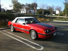 mustang gt 1986 sold 1986 ford mustang g t convertible for sale danville ca