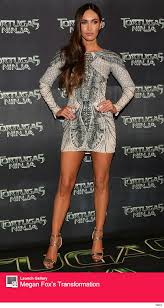 megan fox puts killer legs on display in super short dress