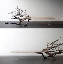 Full Grown Trees Grown Into Furniture And Art Objects Colossal - Tree furniture