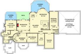 luxurious european house plan with in law suite 12287jl