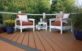 Composite Patio Table Floor Interesting Trex Composite Decking Trex Decking Reviews