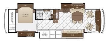 ventana le floor plan options newmar