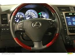 black lexus 2007 2007 lexus gs 450h hybrid black steering wheel photo 45858074