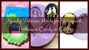 steampunk halloween spooky victorian molds for steampunk halloween candy or crafts