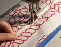 upholstery sewing a boxed cushion with piping and zipper for