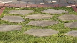 Where To Buy Patio Pavers by Lay A Stepping Stone Walkway