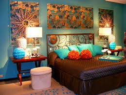 apartments winning the awesome brown and turquoise living room
