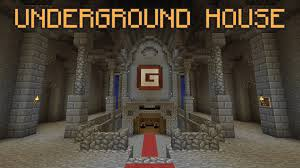 minecraft underground base tutorial youtube