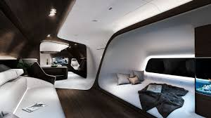 mercedes benz style designs luxurious aircraft cabin for lufthansa