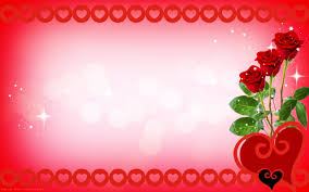 roses and hearts hearts wallpaper valentines day card roses and