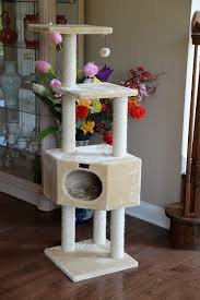 black friday value city furniture armarkat 52 inch cat tree beige chewy com