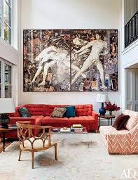 Red Oriental Rug Living Room 29 Oriental Rugs For Every Space Photos Architectural Digest