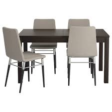 Glass Dining Table And 4 Chairs by Dining Room Stunning Dining Room Sets Ikea For Dining Room
