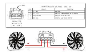 how to wire aftermarket radiator fans dodge srt forum