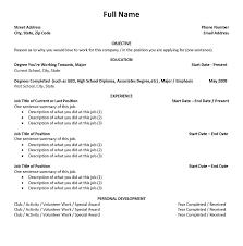 first job resume template haadyaooverbayresort com how to make a