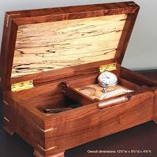 Fine Woodworking Plans Pdf by Jewelry Keepsake Box Downloadable Plan