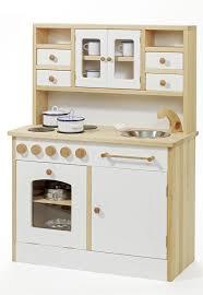weiße stabile kinder spiel küche holz spielzeug peitz - Puppenküche Holz